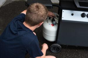 grilling propane tank exchange