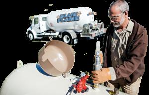 filling propane